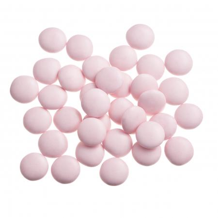 Dragées confettis rose