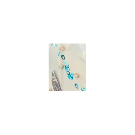 Glitters blue oval 15gr