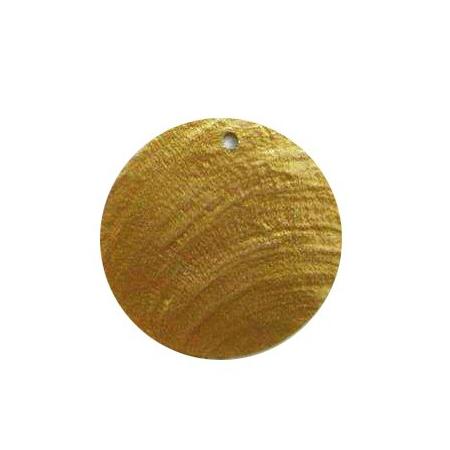 Nacre card gold