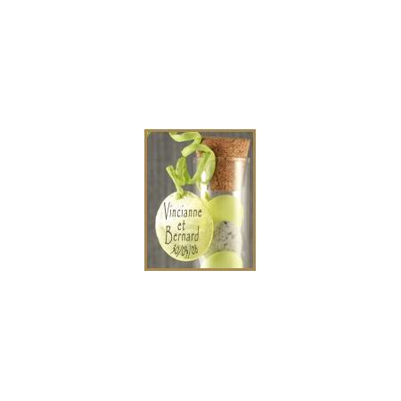 Nacre card Green