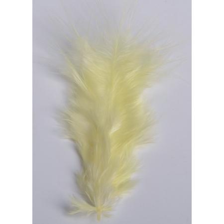 2 gr de mini plumes JAUNES