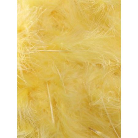 10 gr de plumes ORANGE CLAIRES