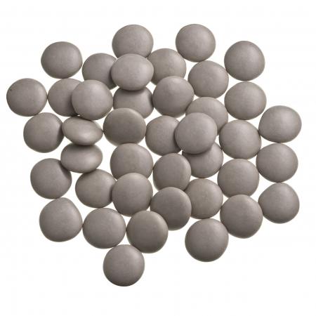 Dragées confettis gris perle