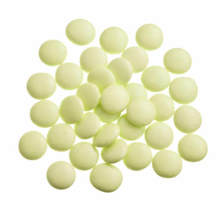 Light green confetti candies