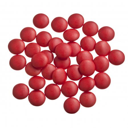 Dragées confettis rouge