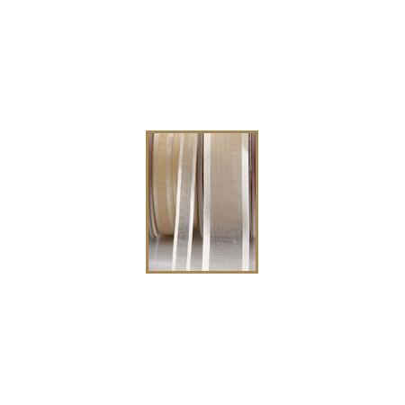 Satin unbleached ribbon 10mmX50M