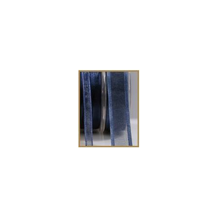 Satin dark blue ribbon 10mmX50M