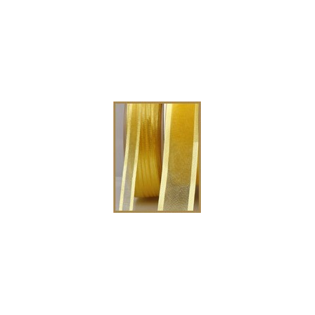 Ruban satin jaune clair 10mmX50M