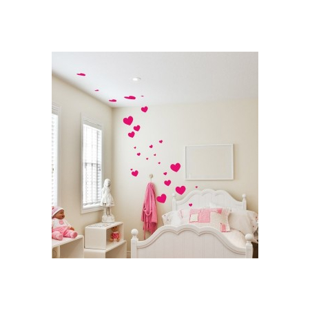 Stickers graphique coeur