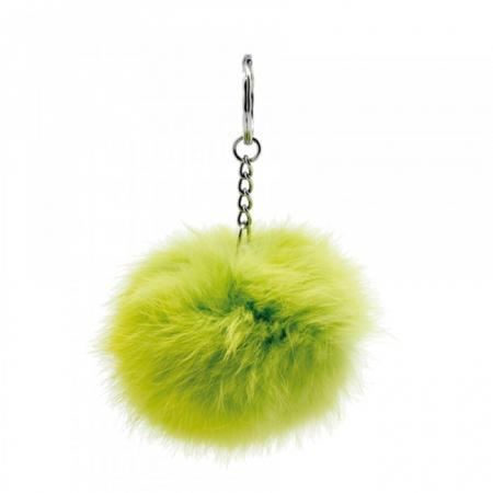 Pompom porte clés