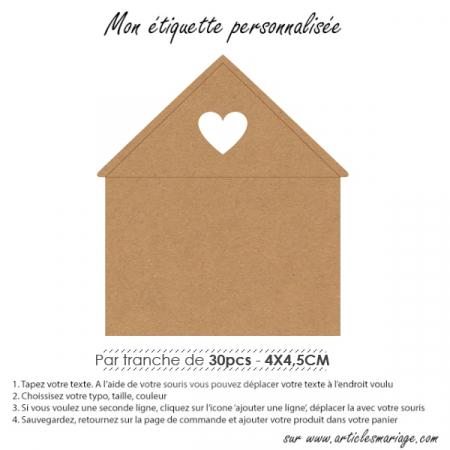 Etiquette maison d'amour