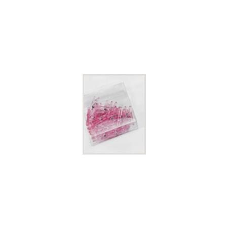 Pink plastic clip