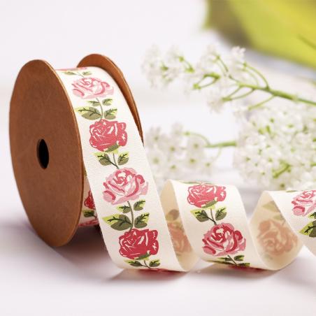 Ruban Liberty Roses