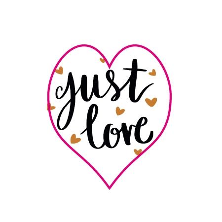 Sticker just love