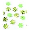 Glitters green flower 15gr