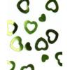Déco coeur vert 15gr