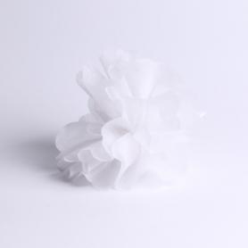 Tulle intissé blanc pour contenir vos dragées