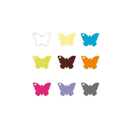 Nominette papillon blanche