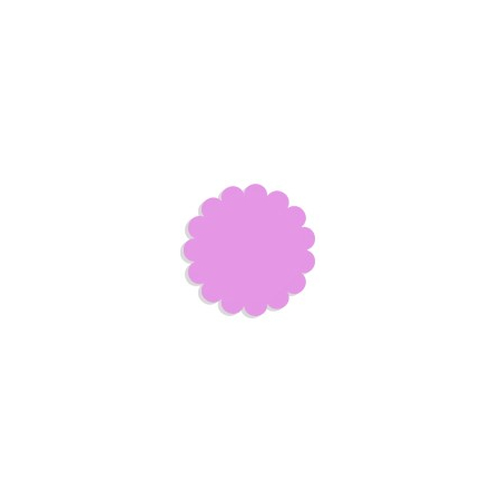 Tulle papier lilas