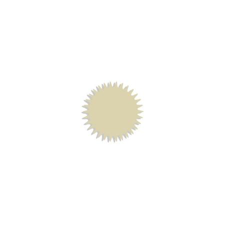 Tulle cristal beige Organza