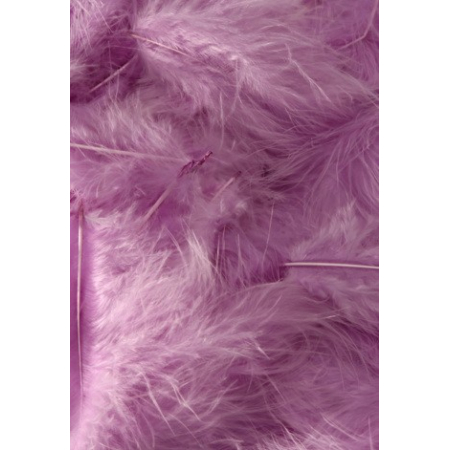 10 gr of light PURPLE feathers