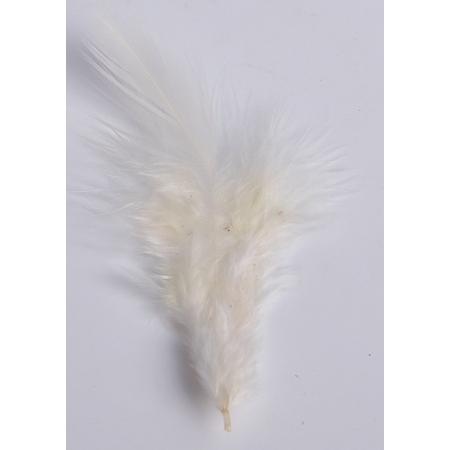 2 gr de mini plumes ECRUES