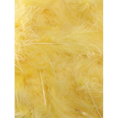 10 gr of LIGHT ORANGE feathers