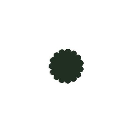 Tulle papier Vert foncé