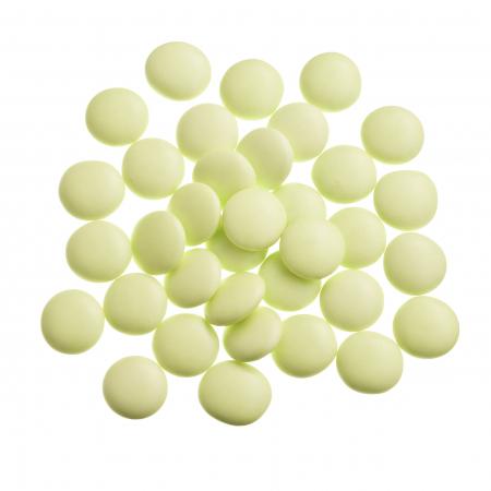 Light green confetti candies