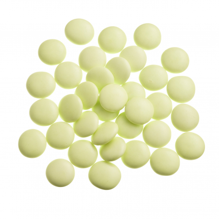 Dragées confettis verts prés