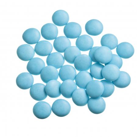 Dragées confettis turquoise