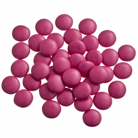 Dark pink confetti candies