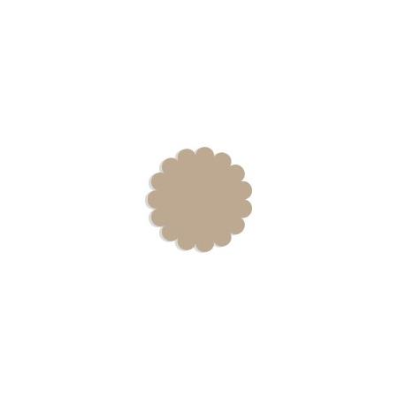 Tulle papier beige